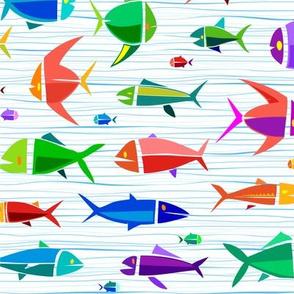 Common Fish 18in wavy