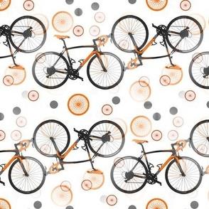 racing bikes orange