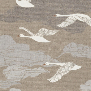 The Wild Swans - large scale