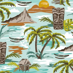 Lost Paradise - Large Scale Aqua