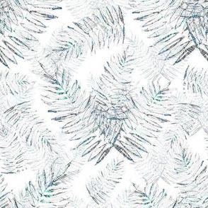 Debs Ferns Blue