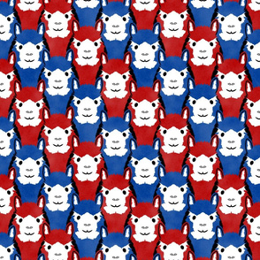 Alpaca pride - Patriotic stripes