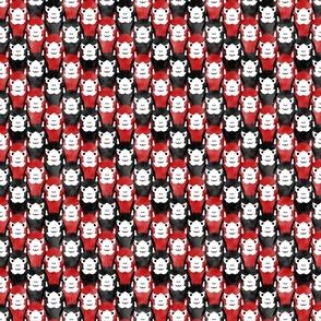 Small Alpaca pride - red stripes