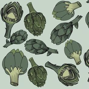 artichoke - mint