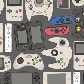 Video Game Controllers in True Colors 2X Horizontal