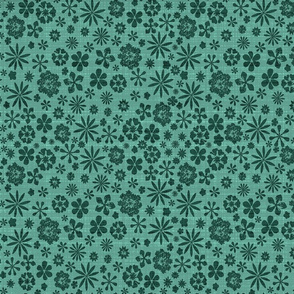 spearmint green meadow bark cloth