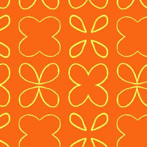 Open Citrus Petals