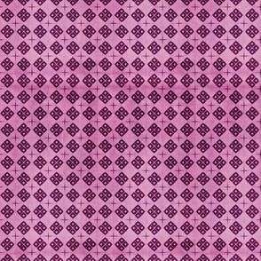 Mini shibori - magenta pink