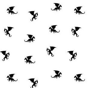 Small Black Dragons