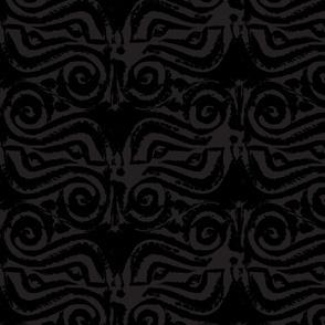 Charcoal Nydam style Octo-eye