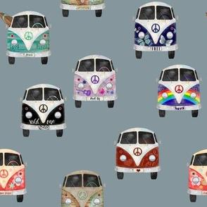 Hippie Bus Adventure // Regent Gray