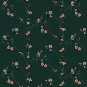 Dark Flowery Tree