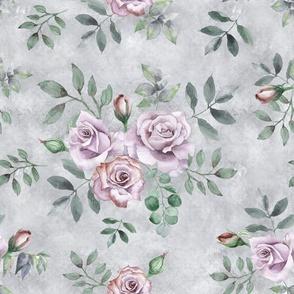 Vintage Lavender Roses