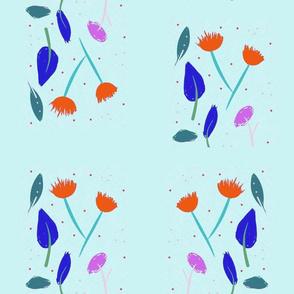 (3) Little Lake Flowers