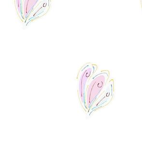 F.2_(3 Set on 1 yards) - Butterflies wings