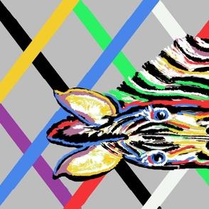 zebralla Rainbow Ways gray