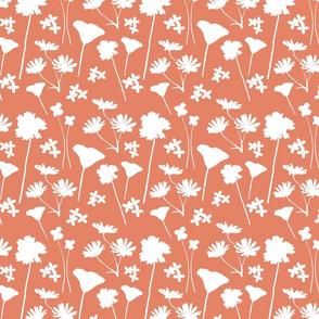 Wildflower Stamp in Orange