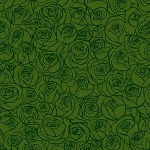 ranunculus floral - forest