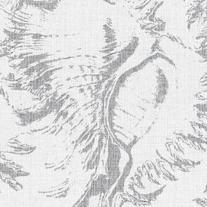 white shells linen