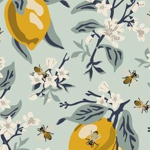 Bees And Lemons - Jumbo - Mint