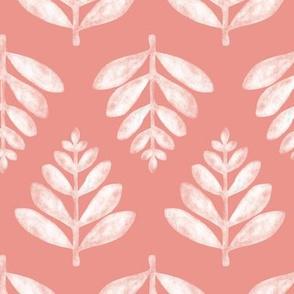 Lau (Leaf) - Coral