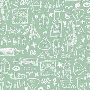 POISON - Light Green