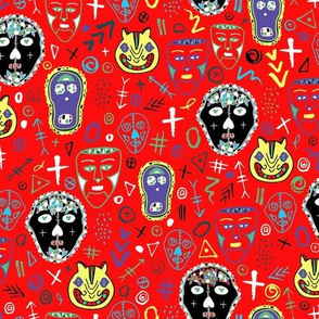 Day of the Dead - Red
