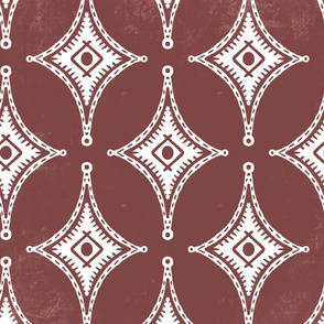 Textured Crosses Rust
