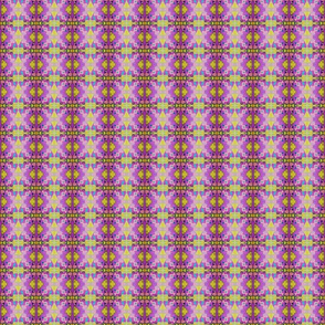 Royal Purple Abstract Opulent