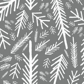 Winter Forest - Silver