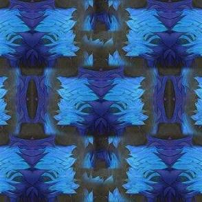 Blues with petals