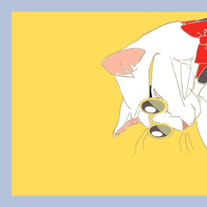 Sunnies_Cat_White
