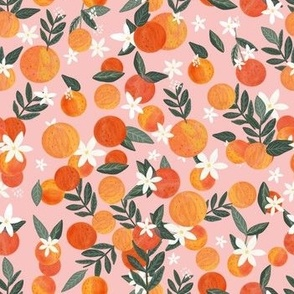 "2"" Happy Oranges Pink"