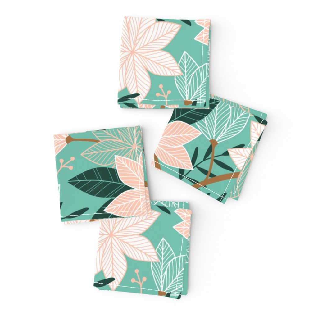 Frizzle Cocktail Napkins featuring Sweet Florals by amy_maccready