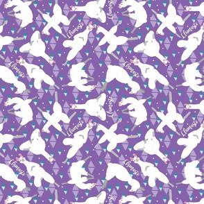 Llamaste On Purple