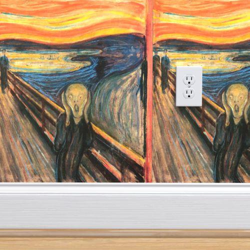 Wallpaper Munch The Scream 1893 18 In
