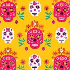 Skull pattern25