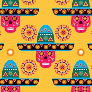Skull pattern28