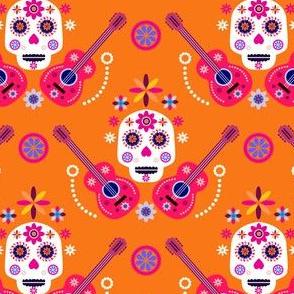 Skull pattern33