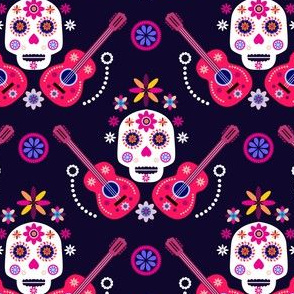 Skull pattern34