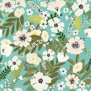 "6"" Soft Garden - Turquoise"