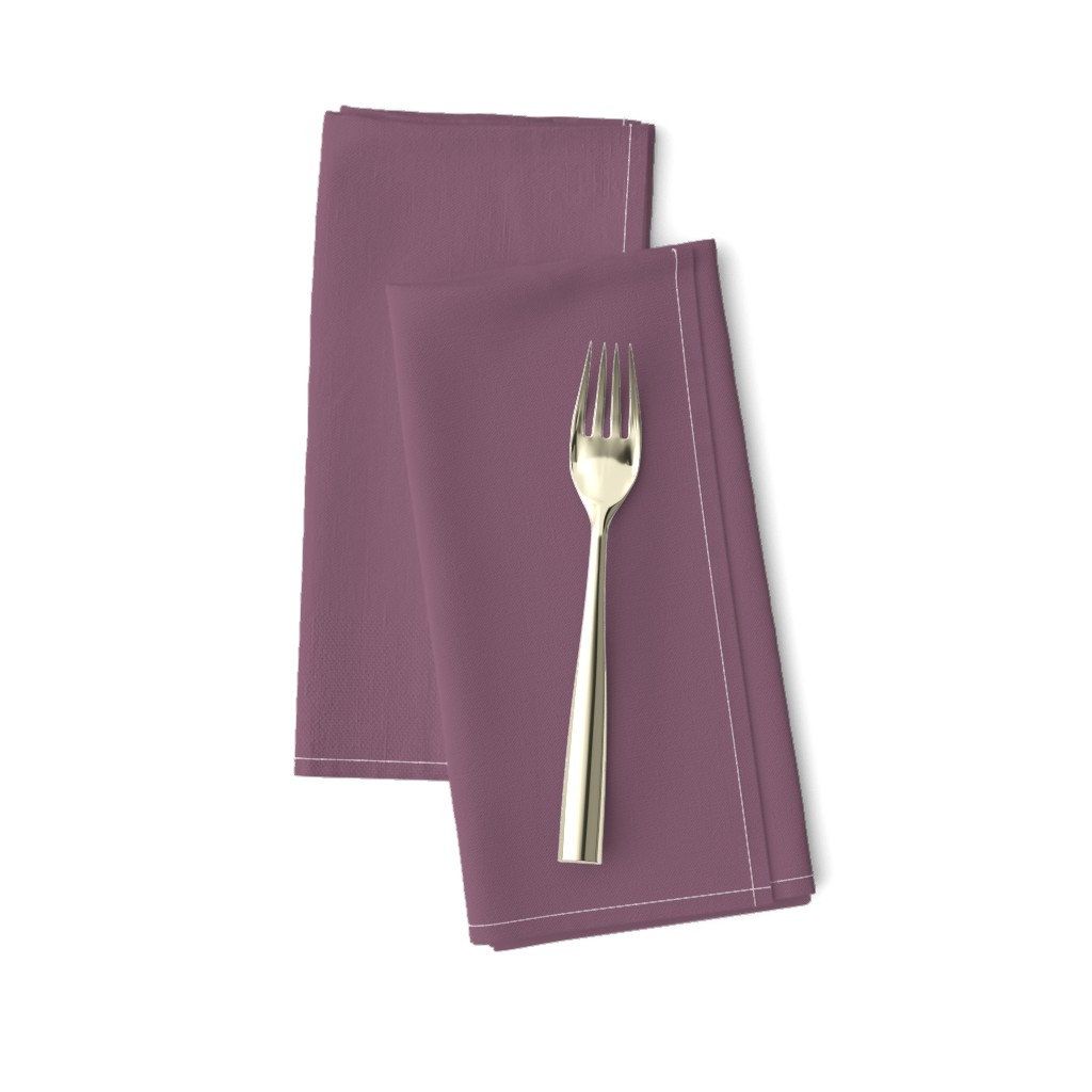 Amarela Dinner Napkins featuring Grapeade Purple Solid Color Trend Autumn Winter 2019 2020 by paper_and_frill