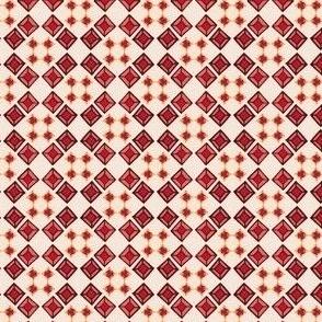 Tiled Gemstones - Red
