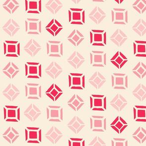 Tonal Gems - pink