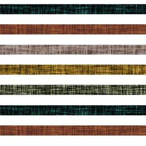 "1/2"" linen stripes // mocha, 12-16, rubbed sage, himalaya, cinnamon"