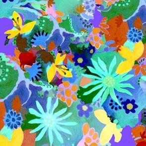 FlowerGardenBee'sEyeView