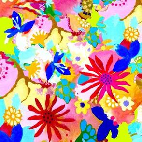 flower fantasy in pink