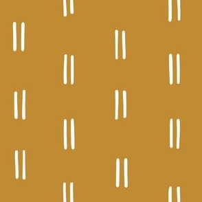dijon turmeric mustard gold yellow parallel lines horizontal lines mud cloth simple fabric gift wrap wrapping paper wallpaper