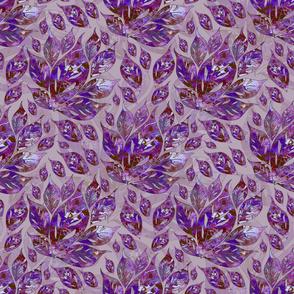 Violet Leaves Abound