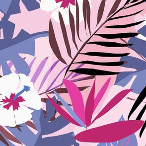 tropical repeat pinks large